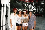 Christy White, Debbie Tipton, Karla Gibson and Melinda Kerr - Trip to the Bahamas right before the 10 year reunion