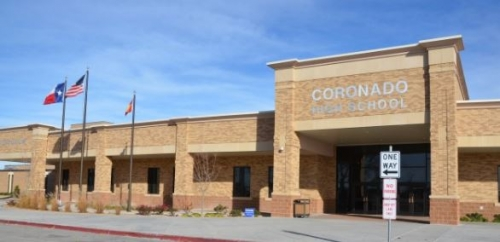 Coronado High School  4910-29th Drive  Lubbock, TX  79410
